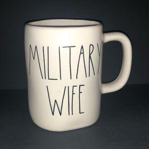 Rae Dunn Military Wifey Mug LL